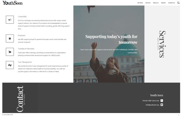 Youth Seen Website